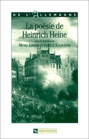 9782271057648: La Po�sie de Heinrich Heine
