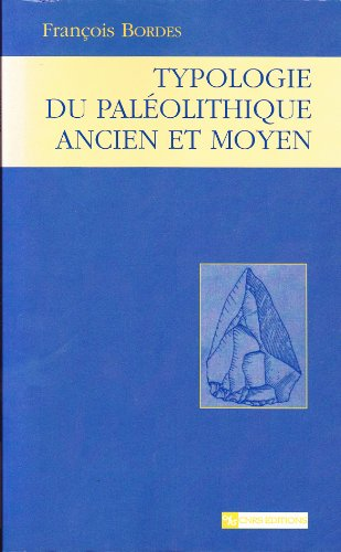 9782271058379: Typologie du paléolithique ancien et moyen (Cnrs Plus Arche)