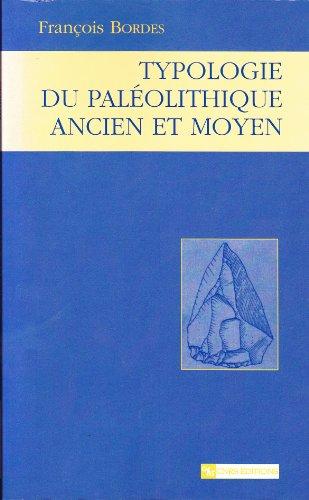 9782271058379: Typologie du paleolithique ancien et moyen