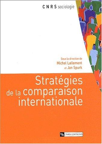 Stratégies de la comparaison internationale: Collectif