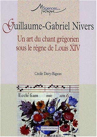 9782271061676: Guillaume-Gabriel Nivers