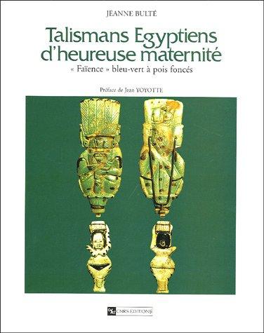 """Talismans égyptiens d'heureuse maternité. """"Faïence"""" bleu vert à pois foncés - Jeanne Bulté"""