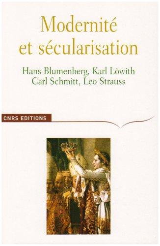 9782271064929: Modernité et sécularisation (French Edition)