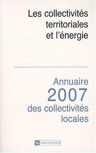 Les collectivités territoriales et l'énergie (French Edition): ...