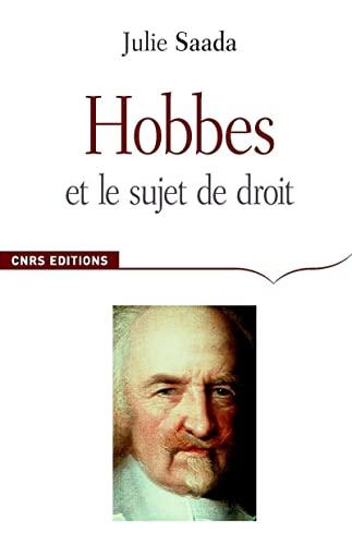 Hobbes et le sujet du droit (French Edition): Julie Saada