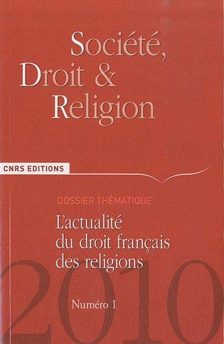 9782271070111: Société, droit et religion n°1