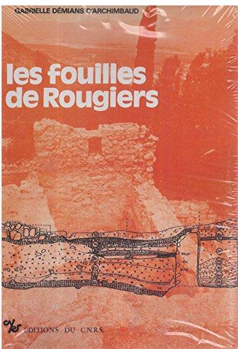 9782271070388: Les Fouilles de Rougiers. Contribution a l'Archéologie de l'Habitat Rural Médiéval en Pays Mediterra