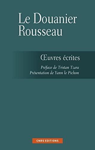 Ecrits du douanier Rousseau (Les): Le Pichon, Yann