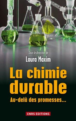 9782271072771: la chimie durable