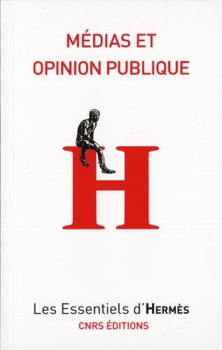 9782271073419: médias et opinion publique
