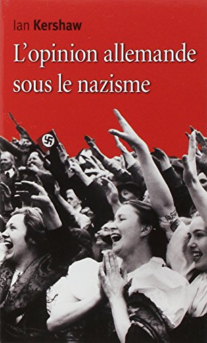 9782271077493: Opinion allemande sous le nazisme