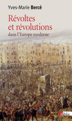 9782271077820: Révoltes et révolutions dans l'Europe moderne (XVIe-XVIIIe siècle)