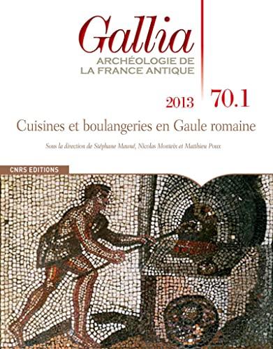 Cuisines et boulangeries en Gaule romaine: Collectif