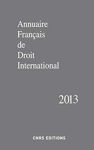 9782271082657: Annuaire français de droit international 1959-2013