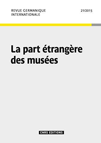 Rgi 21 : la Part Étrangère des Musees: Espagne Michel