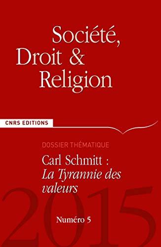 Société, droit et religion, no 05: Collectif