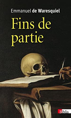 9782271088048: Fins de partie (French Edition)