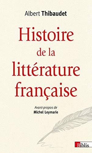 9782271089984: Histoire de la littérature française