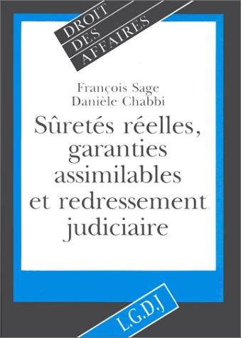 Suretes reelles garanties ass. (French Edition): François Sage