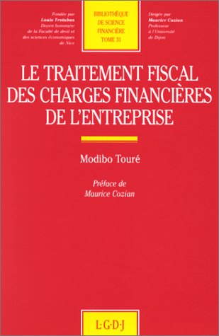 traitement fiscal charges fin. (2275004440) by Toure