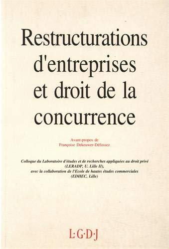 restructurations d'entreprises: Collectif
