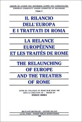 la relance europeenne et les