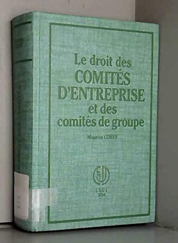 9782275009865: Comites Entreprises et Groupes