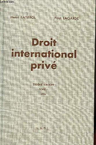 9782275013138: Droit international privé...