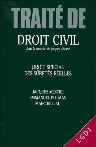 droit spécial des sûretés réelles (TRAITÉS): Billiau M., Mestre