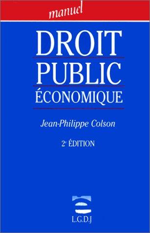 9782275016504: Droit public �conomique
