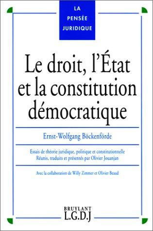 Droit : l'état et la constitution démocratique: Bakenfor