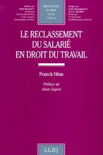 Reclassement du salarié en droit du travail: Heas