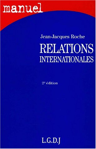 9782275020686: Relations internationales 2e ed.