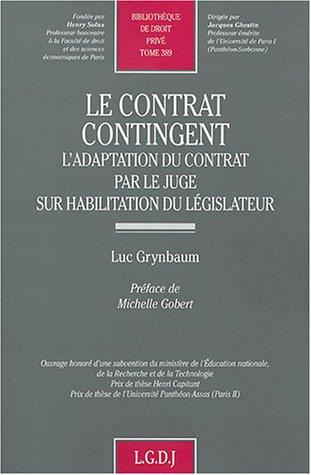 9782275023373: Le contrat contingent (French Edition)