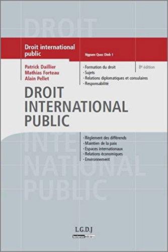 9782275023908: Droit international public 8ed