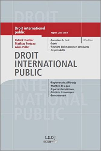 Droit international public (French Edition): Daniel Müller