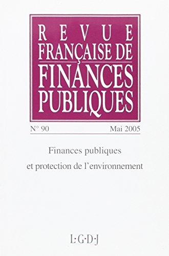 revue francaise de finances publiques 90-2005