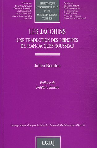 9782275026831: Les Jacobins (French Edition)