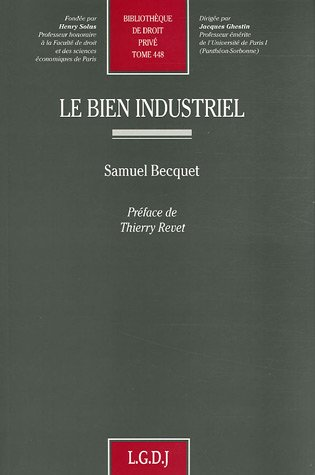 le bien industriel: Samuel Becquet