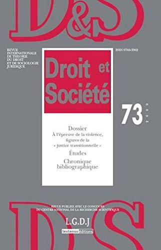 revue droit et societe t.73