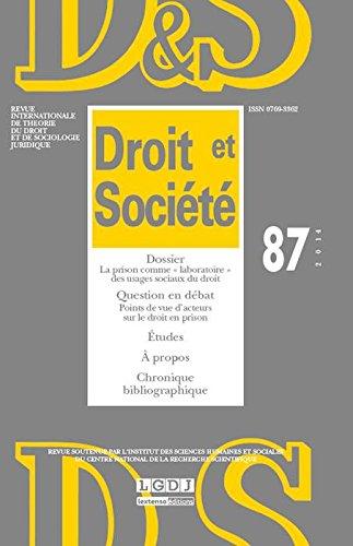 Revue Droit & Societe N 87-2014