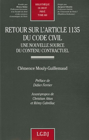 Retour sur l'article 1135 du Code civil (French Edition): Rémy Cabrillac