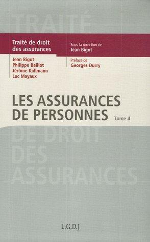 traité de droit des assurances t.4