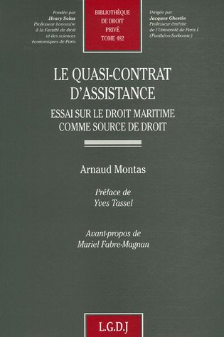 9782275032207: Le quasi-contrat d'assistance (French Edition)