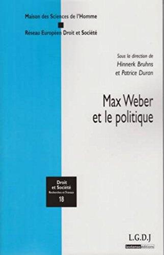 9782275033587: Max Weber et le politique