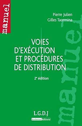 voies d'exécution et procédures de distribution (2e édition): Pierre ...