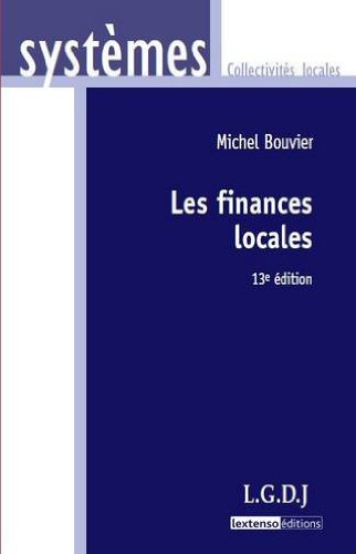 9782275034058: Les finances locales (French Edition)