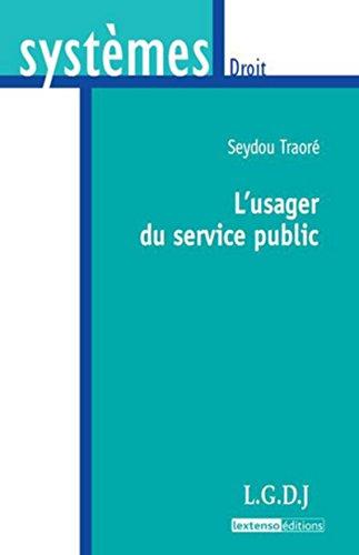9782275034713: L'usager du service public