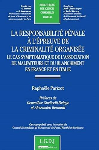 responsabilité pénale: RaphaÃ«le Parizot