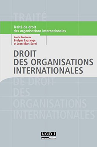 9782275035901: Droit des organisations internationales
